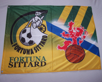 Full color vlag Fortuna Sittard